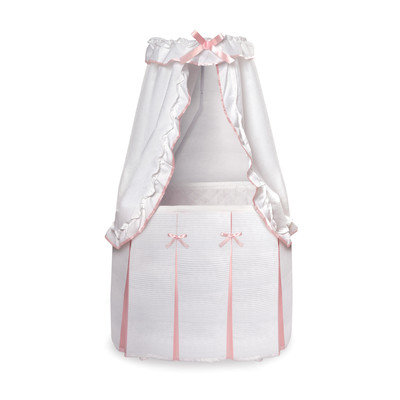 Harriet Bee Christion Baby Bassinet with Canopy