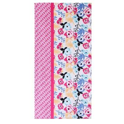 Clairebella Floral Cotton Beach Towel