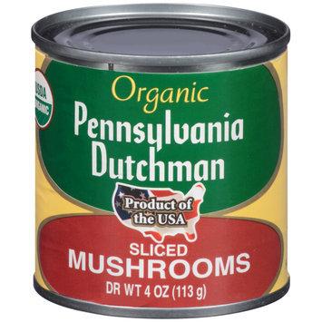 Pennsylvania Dutchman Organic Sliced Mushrooms 4 oz. Can