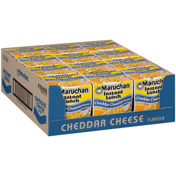 Maruchan® Instant Lunch™ Cheddar Cheese Flavor Ramen Noodle Soup 1 Cups