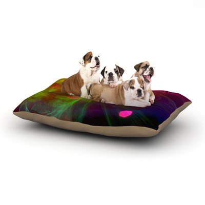 East Urban Home Alison Coxon 'Dance' Dog Pillow with Fleece Cozy Top Size: Large (50