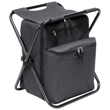 Preferred Nation 12 Can Seated Backpack Cooler Color: Black
