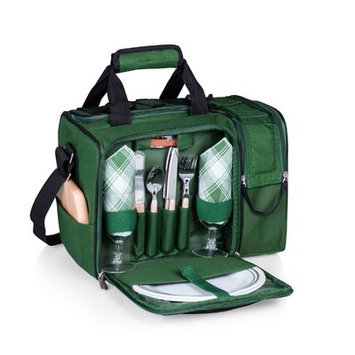 Latitude Run Malibu Picnic Tote for Two Color: Hunter Green