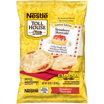Nestlé® Toll House® Strawberry Shortcake Cookie Dough