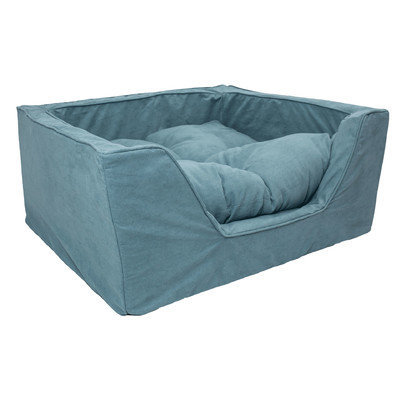 O'donnell Industries ODonnell Industries 21252 Medium Luxury Square Dog Bed - Sangria