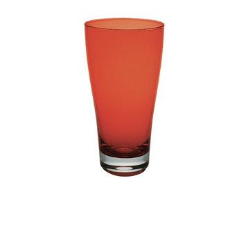 Majestic Crystal Nadia 16 Oz. Juice Glass Color: Orange