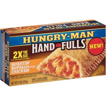 Hungry-Man® Hand-Fulls Burstin' Buffalo Style Chicken Frozen Sandwich 9 oz. Box