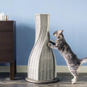 The Refined Feline Calypso Cat Scratching Post Color: Smoke