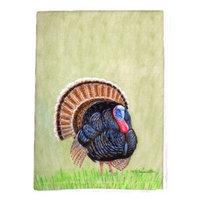 Betsy Drake Interiors Wild Turkey Hand Towel