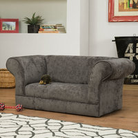 Chapter3inc Nellie Dog Sofa Color: Charcoal