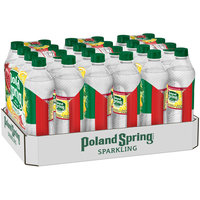 POLAND SPRING Sparkling Pomegranate Lemonade Natural Spring Water 24 ct Pack