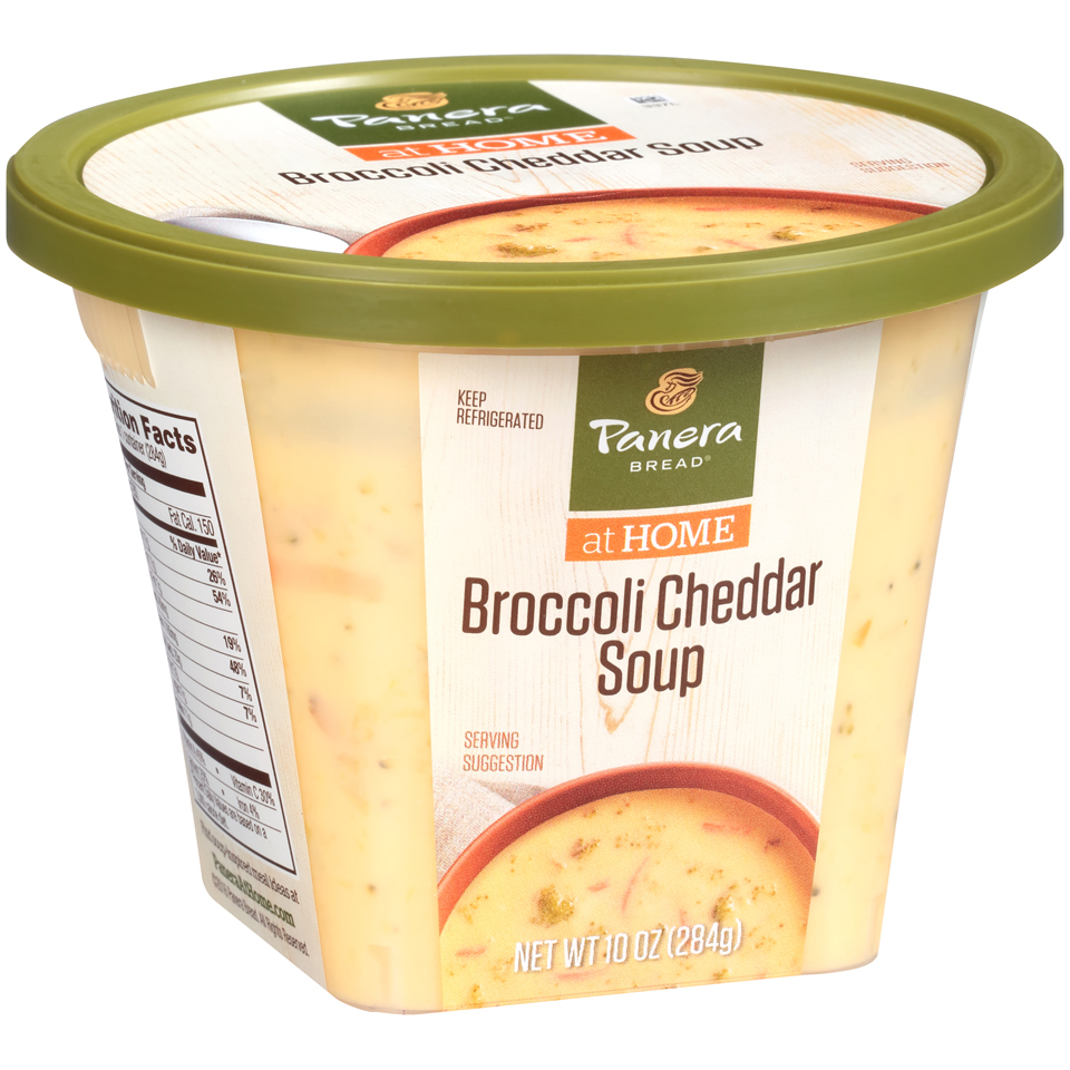 Panera Bread® at Home Broccoli Cheddar Soup 10 oz. Microwave Bowl