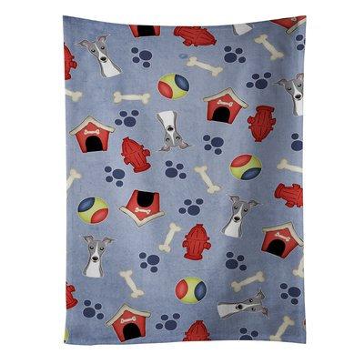 East Urban Home Dog House Italian Greyhound Dishcloth