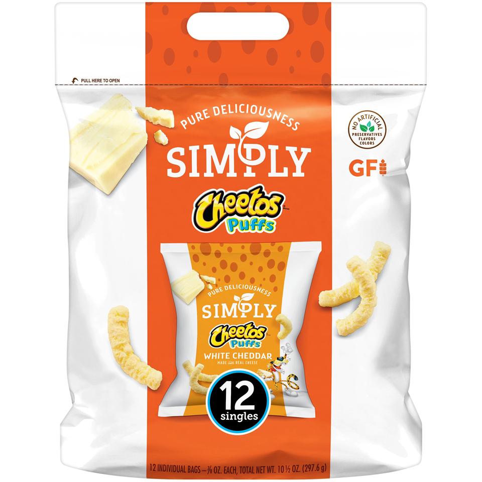 CHEETOS® Simply White Cheddar Puffs