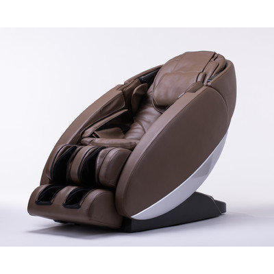 Human Touch Novo Zero Gravity Massage Chair Upholstery Color: Brown