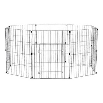 Iris Wire Pet Exercise pen Size: 30