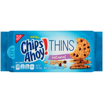 Chips Ahoy! Thins Oatmeal Chocolate Chip Cookies