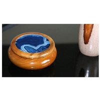 Novica Ocean Amazon Agate and Cedar Jewelry Box