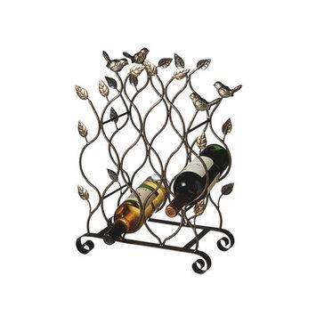 August Grove Austrina 8 Bottle Tabletop Wine Rack