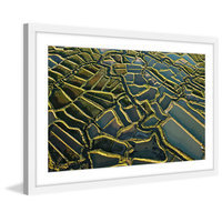 Marmont Hill Inc Marmont Hill - 'Waterways' Framed Painting Print