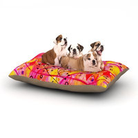 East Urban Home Ebi Emporium 'Into the Fall' Dog Pillow with Fleece Cozy Top Size: Large (50