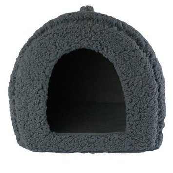 Precioustails Dog and Cat Hooded/Dome Color: Gray
