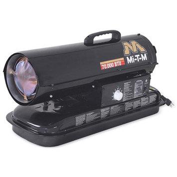 Mi-t-m Mitm MTMMH-0075-0M10 Portable Kerosene Forced Air Heater, 75,000 Btu