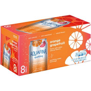 Aquafina® Sparkling Orange Grapefruit Water 8-12 fl. oz. Cans