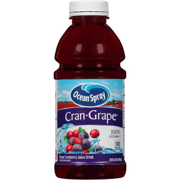 Ocean Spray® Cran • Grape™ Juice Drink 25 fl. oz. Plastic Bottle