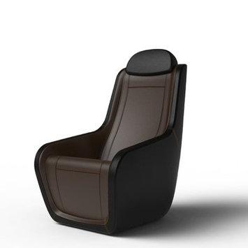 Latitude Run Heated Massage Chair Upholstery: Americana/Black