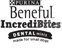 Purina Beneful IncrediBites Dental Minis Made for Small Dogs Logo