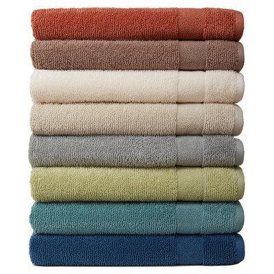 Mercury Row Deberry Kushlon Texture Bath Towel Color: Cinnamon
