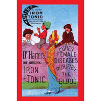 Buyenlarge 'Dr. Harter's Iron Tonic' Wall Art Size: 66