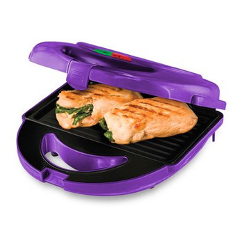 Big Boss 7-Piece Grill Set with 3 Sets of Non-Stick Cooking Plates, Purple