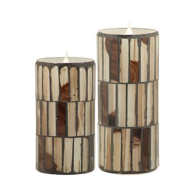 Trent Austin Design Flameless Candle Size: 8