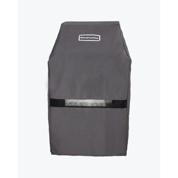 KitchenAid Grill Tools 28 in. Grill Cover Black 700-0891
