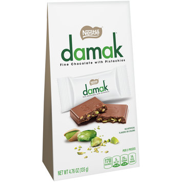 NESTLE DAMAK Chocolate with Pistachios 4.76 oz. Pack