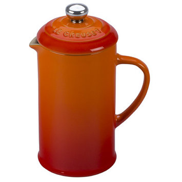 Le Creuset Petite French Press Color: Flame