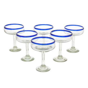 Novica Margarita Cheer 9 oz. Glass