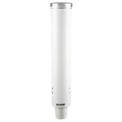 San Jamar C4160WH Pull Type Cup Dispenser