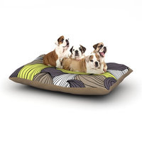 East Urban Home Gabriela Fuente 'Wild Brush' Dog Pillow with Fleece Cozy Top Size: Small (40