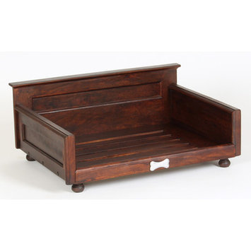 Dogstuffdepot Solid Wood Dog Bed Size: Small (27.75