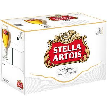 Stella Artois® Belgium Beer 18-11.2 fl. oz. Bottles
