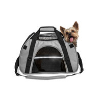 Furhaven Small Pet Tote With Weather Guard - Gray