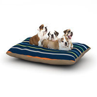 East Urban Home Trebam 'Tanak' Dog Pillow with Fleece Cozy Top Size: Small (40