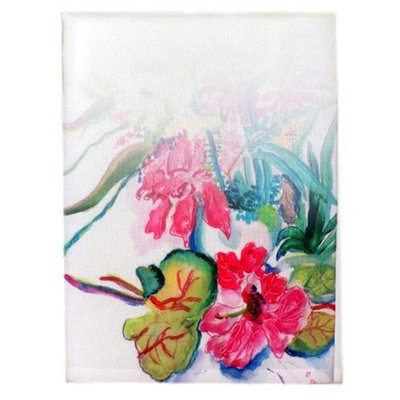 Betsy Drake Interiors Multi-Florals Hand Towel