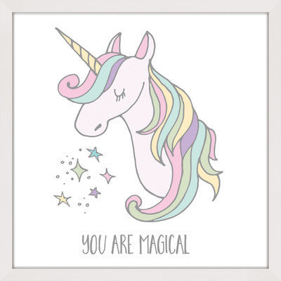 Marmont Hill Inc Marmont Hill - 'You are Magical' by Shayna Pitch Framed Painting Print