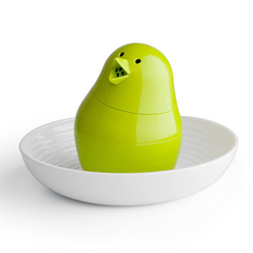 Design Ideas Qualy Salt and Pepper Combination Color: Green