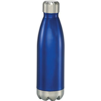 Latitude Run Insulated Hot or Cold 7 oz. Water Bottle Color: Blue