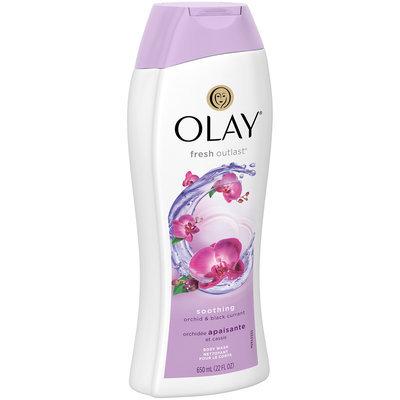 Olay® Fresh Outlast® Soothing Orchid & Black Currant Body Wash 22 fl. oz. Plastic Bottle